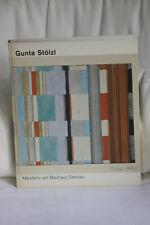 Gunta Stölzl, Meisterin am Bauhaus Dessau, Textilien 1915-1983, Buch, wie neu