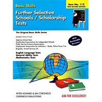 Further Selective Schools tests or Scholarship Examinations. YEAR 6