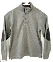 WeatherProof Sweater Fleece Pullover - Medium - Green