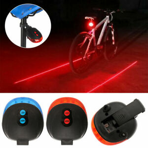 Waterproof Bicycle Bike Light Back Rear Tail Light Beam Safety Signal Red Lamp