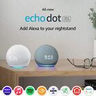 Amazon Echo Dot (4th Gen) Smart Speaker with Clock and Alexa - BLUE & WHITE