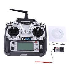 Flysky FS-T6 -RB6 FS Hand-Fernsteuerung 2.4 GHz 6 Kanäle RC Sender + Empfänger A