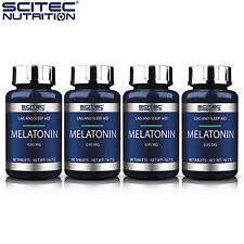 MELATONIN 90-450 Tablets Antioxidant Deep Relaxing Sleep Improve Aid Best Offer