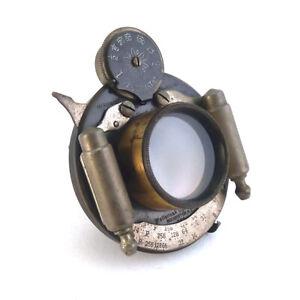 Antique Wollensak Automatic 5x7 Rapid Convertible Camera Lens, C.1901