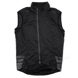 Pearl Izumi Elite Barrier Cycling Vest Lightweight Full Zip Black Mens Size M