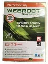 Webroot Secure Anywhere Internet Security Plus (3 Devices) Windows 8