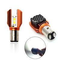 12V BA20D LED Motorrad Glühbirne Fern-Abblend-Scheinwerfer Nebelscheinwerfer 20W