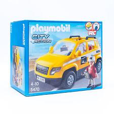 Playmobil 5470 City Action  - Bauleiterfahrzeug mit Figur R/C Fähig Verpackung