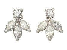 Not Enhanced White Gold SI2 Fine Diamond Earrings