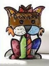 "ROMERO BRITTO MINI YORKSHIRE TERRIER ""PRECIOUS"" NEW"