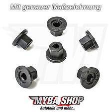10x Kunststoffmutter Radhausschale Clip für BMW Audi Ford Opel VW | 90413589