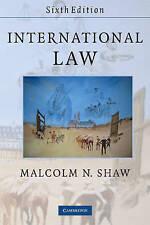 International Law, Good Condition Book, Malcolm N. Shaw, ISBN 9780521728140