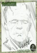 Artbox Frankenstein Sketch Card By Mike Lilly