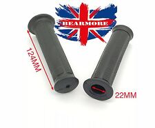 Rubber Handle Grip for wheel sack barrow 22mm bar trolley bogey bike Black
