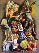Def Leppard-Hysteria 80's Hard Rock Steve Clark Sticker or Magnet