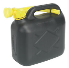 FUEL CAN 5LTR - BLACK FROM SEALEY