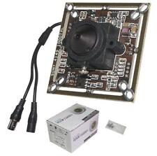 "Sunvision 960TVL 1/3"" Sony CCD HD Board Camera + 3.7mm Pinhole Lens (B01S)"