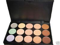 15 Color Camouflage Palette Concealer Neutral Makeup Beauty Professtional