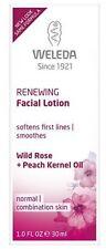 Weleda Renewing Facial Lotion w/ Wild Rose & Peach Kernel Oil (1oz) Exp 3/19 NIB