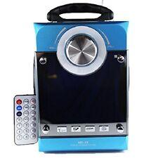 Box Speaker Multimediale MS-35 Cassa Radio Fm Mp3 Usb Sd Aux Display Led hsb