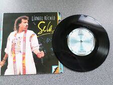 "LIONEL RICHIE - SELA - 7"" VINYL SINGLE - P/S"