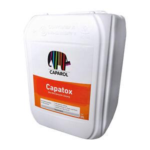 CAPAROL Capatox Reinigung von Algen Pilze Schimmelbefall Moss Biozid-Lösung 10 L