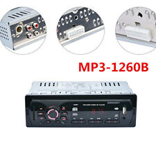 Car Stereo Radio Player System Audio Auto MP3 Player USB Wireless Remote AUX SD
