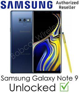 Samsung Galaxy Note 9 N960U Blue Cricket AT&T Sprint T-Mobile Verizon Unlocked