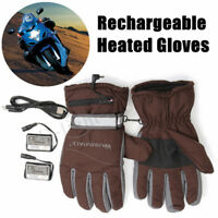 Rechargeable Battery Heated Winter Gloves Motorcycle Outdoor Sports  uk