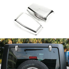for Jeep Wrangler JK Rear Window Right & Left Hinge Covers 08-17 ABS Accessories
