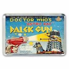 RETRO 60's -DOCTOR WHO -DALEK GUN ADVERT JUMBO FRIDGE MAGNET