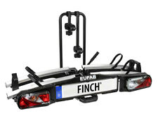 Eufab FINCH Fahrradträger für 2 Fahrräder Heckträger abklappbar E-Bike geeignet