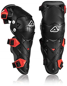 Acerbis Impact EVO Knee/Shin Guards BLACK/RED by Acerbis