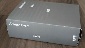 Ableton LIVE Suite 9 Full License (Upgrade auf neuste Version möglich)