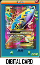 Pokemon TCG ONLINE M Sharpedo EX XY200a (DIGITAL CARD) Black Star Promo Full Art