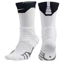 Nike Nikegrip Power baloncesto Crew calcetines talla m (6-8) blanco negro elite