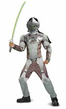 Disguise Genji Classic Muscle Child Costume Gray Large/(10-12)