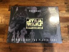Star Wars Card Game Sealed 1995 Parker Brothers Trading 2 Player