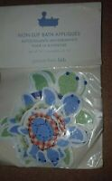 New Pottery Barn kids TURTLE Non Slip APPLIQUES Safety Decal Bath Tub Anti Skid