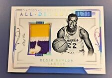 2017-18 NATIONAL TREASURES ELGIN BAYLOR ALL - DECADE PATCH 1/1 LAKERS!