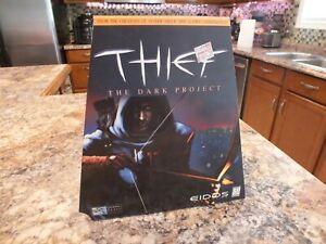 THIEF THE DARK PROJECT Windows PC CD-ROM 1998 Trapezoid Big Box RARE