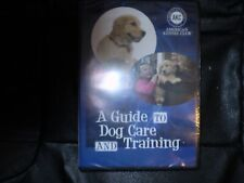 A Guide to Dog Care and Training (American Kennel Club DVD) BRAND NEW