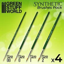 GREEN SERIES Set Pinceles Sinteticos-Ergonomicos pintar ejercitos warhammer 40K