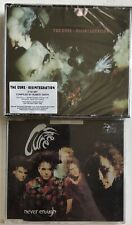 THE CURE - DISINTEGRATION DELUXE SEALED 3 X CD + NEVER ENOUGH CD