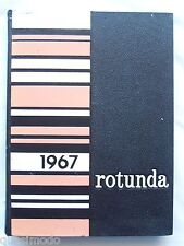 1967 CLIFTON HIGH SCHOOL YEARBOOK, CLIFTON, NEW JERSEY  ROTUNDA
