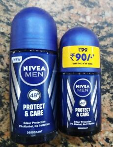 Nivea Men Deodorant 48 Hour Protect & Care 0% Alcohol - 25 ml / 50 ml