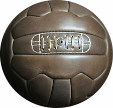 Vintage Leather Soccer Ball 1966 -- 100% leather - from Vintage Football Inc.
