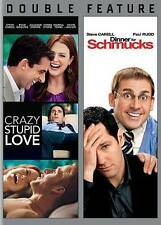Crazy, Stupid, Love / Dinner For Schmucks Double Feature DVD Fast Free Shipping!