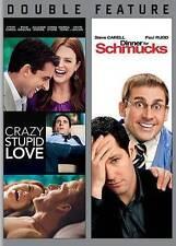 NEW Crazy Stupid Love / Dinner for Schmucks (DVD, 2014, 2-Disc Set)