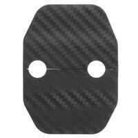 Door Lock Carbon Fiber Cover Protector Decoration Trim For BMW X5 F15 14-16